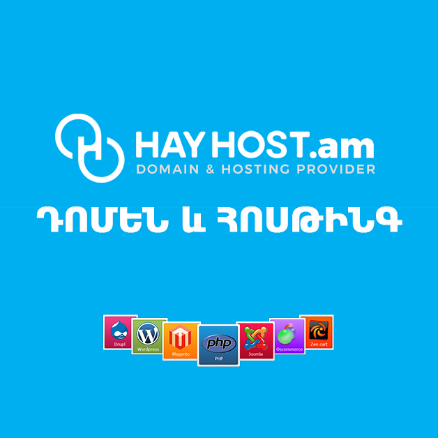 Web hosting and .am domains